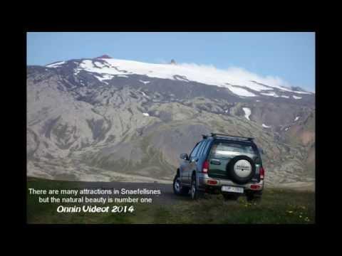 The trail Arnarstapi   Hellnar in Iceland Snaefellsnes