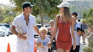 Robin Thicke And Pregnant GF April Love Treat Robin's Son Julian To A Fun Day At The Fair