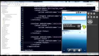 Android programming tutorial - BroadcastReceiver