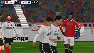 Manchester United vs wow pt Dream League Soccer 2018 Android Game Play #49