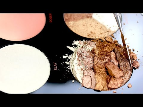 Destroying the Makeup Revolution Pro HD Highlighter Palette | THE MAKEUP BREAKUP