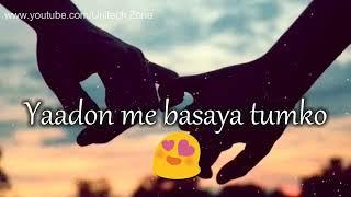 ❤Khabon me sajaya tumko yaadon Me basaya tumko !! love whatsapp status!!