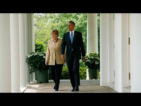 Merkel and Obama: 'our aim is not to punish Russia'