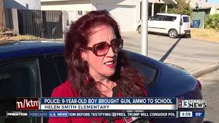 9-year-old boy found with gun at Las Vegas elementary school