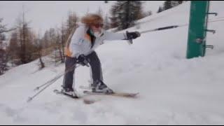 SKI FAILS - 2020 - stupid people VS Lift
