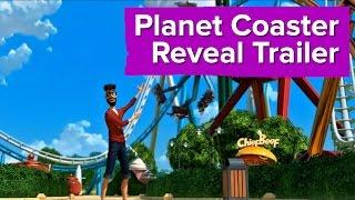 Planet Coaster Reveal Trailer - E3 2015 PC Gamer Show