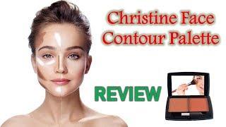 Christine Oil Control Face Contouring Powder Review || Pakistani Makeup Brand