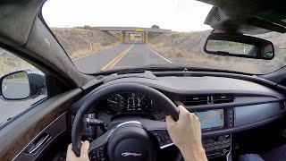 2016 Jaguar XF R-Sport - WR TV POV Test Drive