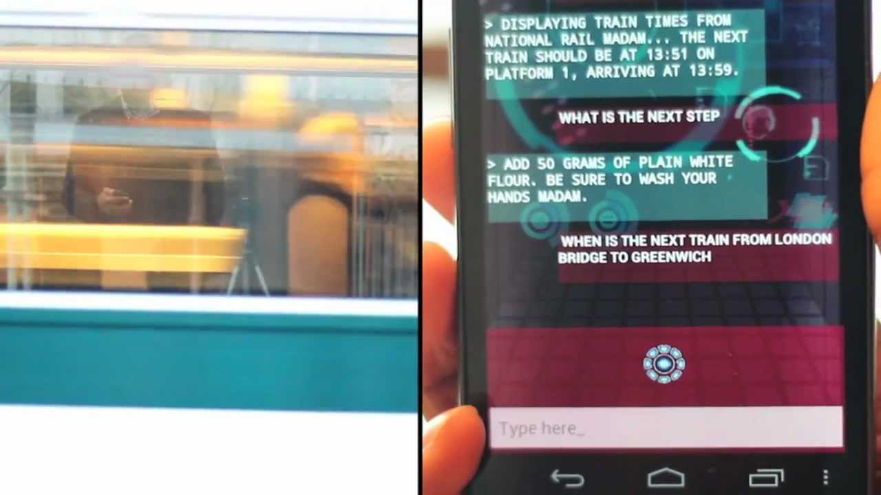Iron Man's Jarvis Personal Assistant app on Android