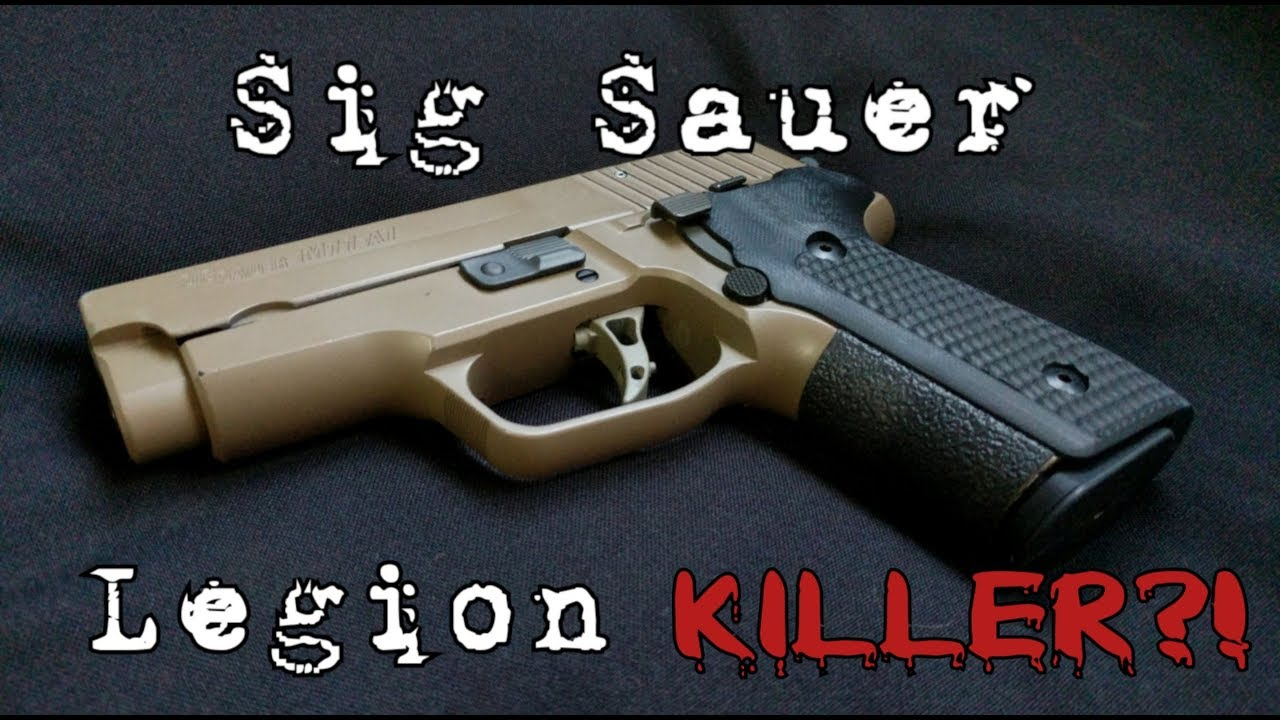 medium resolution of can you build a sig legion killer a parts breakdown of my sig m11a1