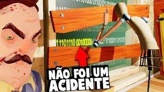 UMA NOVA MENSAGEM SECRETA DO VIZINHO!!! A MORTE NÃO FOI UM ACIDENTE! | Hello Neighbor (ESPECIAL)