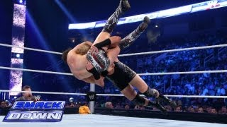 The Miz vs. Jack Swagger: SmackDown, Aug. 16, 2013