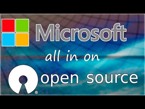 Microsoft All In On Open Source!