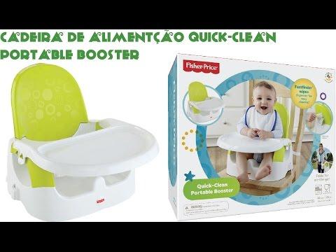 TAG: Cadeira De Alimentação Quick-Clean Portable Booster Da Fisher-Price