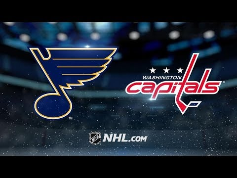 St. Louis Blues vs Washington Capitals | Jan.14, 2019 | Game Highlights | NHL 2018/19 | Обзор матча