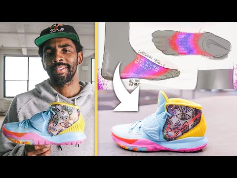 Kyrie Irving Breaks Down the KYRIE 6 Sneaker | Signature Sneakers | GQ Sports