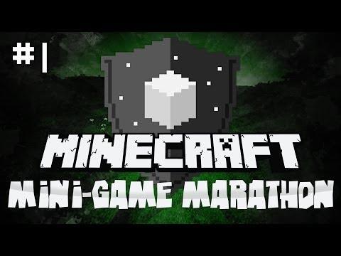 Minecraft Mini-Game Marathon: E1 - Play ALL the Games!