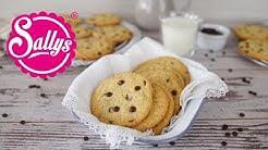 Subway Cookies: Chocolate Chip Cookies / softe und zarte Kekse / Sallys Welt