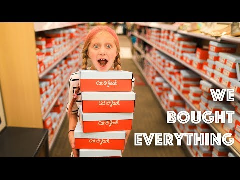 BACK to SCHOOL Shopping - Mom & Dad CAN'T SAY NO!