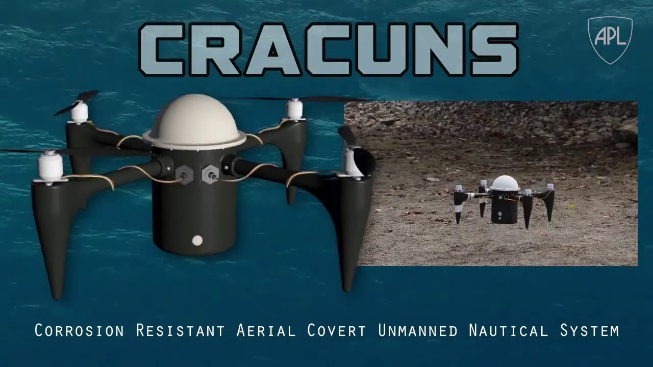 Cracuns - drone that can operate underwater and in the air
