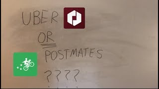 uberEATS vs POSTMATES (WHICH PAYS BETTER?)