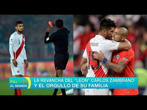 La revancha del 'León' Carlos Zambrano y el orgullo de su familia - Mujeres al mando