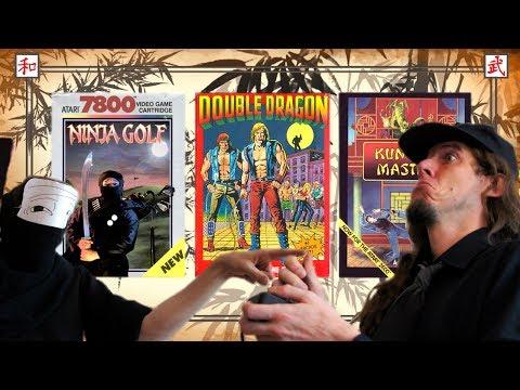 Atarian 23#: Martial Arts Games (Atari 7800 & 2600)