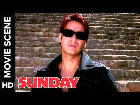 Ajay saves the day | Ajay Devgn, Irrfan Khan, Arshad Warsi | Sunday | Movie Scene | Comedy