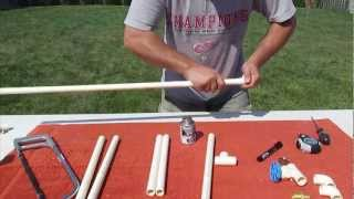 how to build a rink rake part 1 of 3