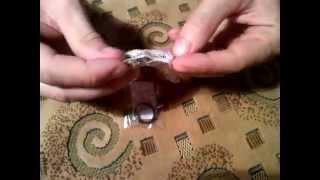 Обзор мужских колец (черное и серебряное) с молитвой
