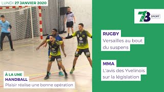 7/8 Sports. Emission du lundi 27 janvier 2020