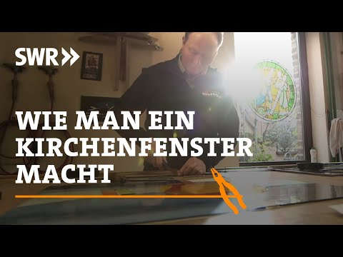 Handwerkskunst! Wie man ein Kirchenfenster macht | SWR Fernsehen