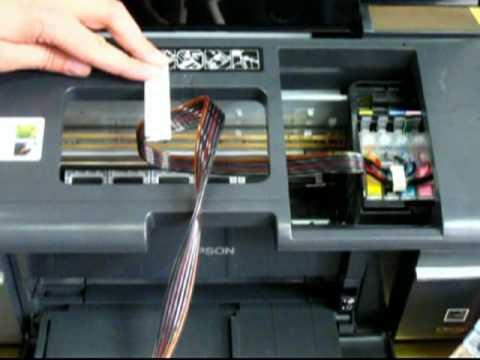 Установка СНПЧ на принтер