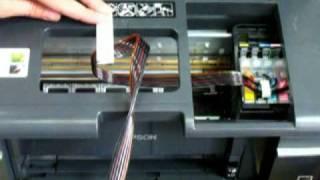 Установка СНПЧ на принтер Epson Т50 и вывод памперса(Как установить Систему нерперывной подачи чернил на принтер Epson Т50 и как вывести памперс на принтере Epson T50., 2009-08-12T13:46:01.000Z)
