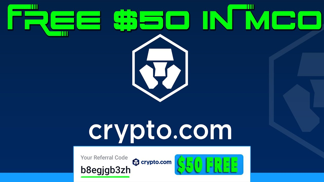 CRYPTO com FREE $50 #crypto #mco #xrp