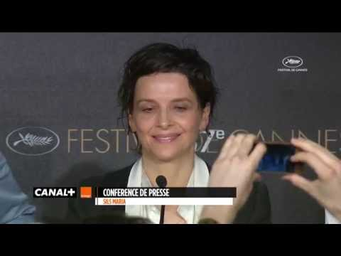 Cannes 2014 - CLOUDS OF SILS MARIA : The press conference