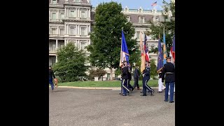Scenes From White House Lawns Ahead Of Signing Of Abraham Accord Between The UAE And Israel