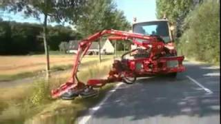 Amazing Technology road cleaner and grass cutter vehicle