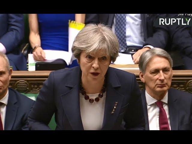 UK will expel 23 Russian diplomats, they have 1 week to leave - May (Recorded live)
