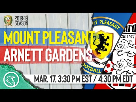 Mount Pleasant vs Arnett Gardens: March 17, 2019, Red Stripe Premier League