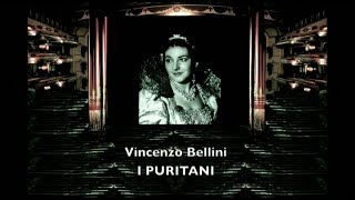 MARIA CALLAS Bellini I PURITANI  Studio 1953 integrale