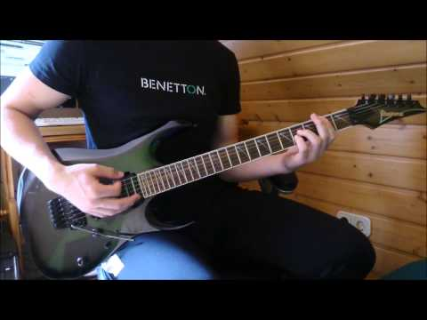 ManOwaR - The Heart of Steel MMXIV Guitar Cover + Solo (Acoustic Intro)