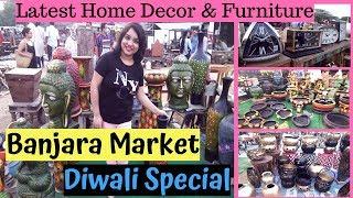 Banjara Market Gurgaon | Latest Home Decor & Furniture | Diwali Special | Shop & Explore