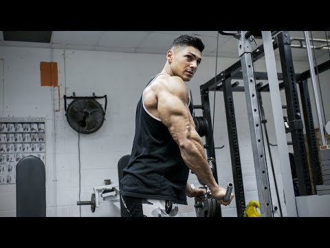 Don't freak out when you see these Triceps! Andrei Deiu Arm Workout - Ep 3: Road to Arnolds