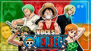 One Piece Voces Español Latino 2020 | VOCES QUE DAN VIDA