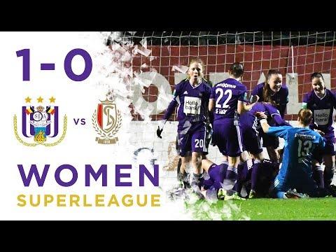Superleague : RSCA 1-0 Standard de Liège Highlights 11/01/2019