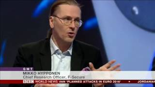 Mikko Hyppönen visits BBC World