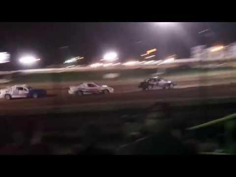 4 bangers at Ransomville Speedway