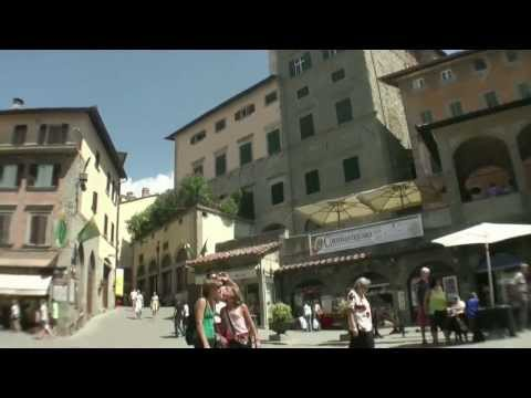 Cortona Arezzo Italy - Beautiful village in tuscany - Travel to Europe