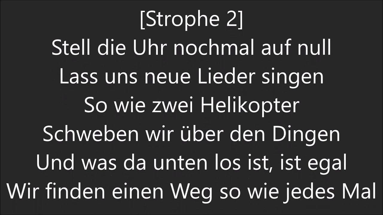 Udo Lindenberg Liedtexte